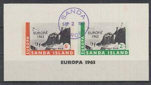 Cendrillon Sanda Island Europe 1963 - Bloc Oo