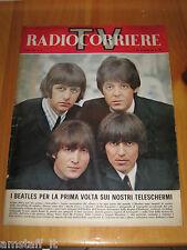 TV RADIOCORRIERE 1966/12= THE BEATLES = COVER MAGAZINE RIVISTA COPERTINA =