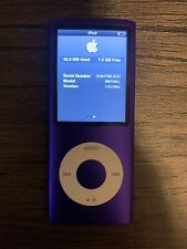 New listing Apple ipod nano 5th generation 8gb Purple
