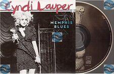 CYNDI LAUPER MEMPHIS BLUES france french CD ALBUM PROMO card sleeve