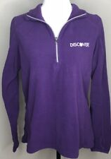 Port Authority Womens Pullover Sweater Large Purple Discover