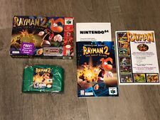 Rayman 2 The Great Escape Nintendo 64 N64 Complete CIB Near Mint Authentic