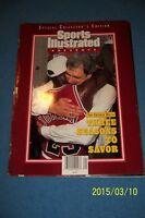 Sports Illustrated CHICAGO Bulls MICHAEL JORDAN Commemorative CHAMPIONS Jackson