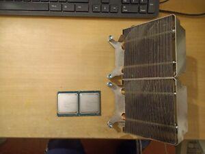 Processeurs intel xeon e5-2650v2 Avec Radiateur