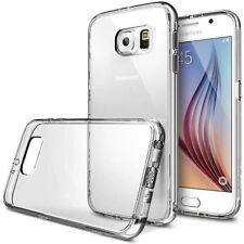 Clear TPU Silicone Gel Case Cover For Samsung Galaxy S7 Edge + Screen Guard