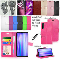 For Xiaomi Redmi Note 8 / Note 8 Pro Case Wallet Cover Leather Flip Book+ Stylus