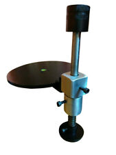 Mast Stand with Base Plate for Hand Held Faceting Machine for faceting gems.