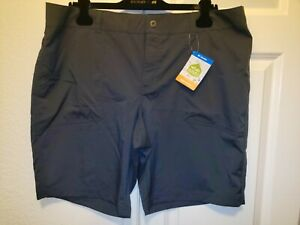 Columbia Omni Shield Active Fit Gray Court Anytime Shorts Women Plus Sz 18W NWT
