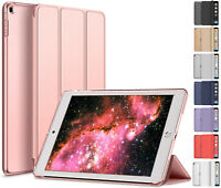 iPad 10.2 in for 7th/8th 7/8 Gen Hard Shell Case Tri-Fold Flip Smart Cover Stand