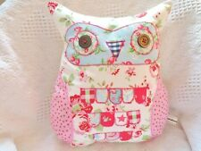 "Owl Cushion Sewing Pattern Novelty Craft Owl Cushion Large 14"" Reusable Pattern!"