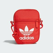 Adidas Trefoil Festival Bags Messenger Shoulder Cross Bag Red FL9664