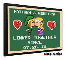 Zelda Link Personalized Anniversary Key Holder Keys Organizer Hanger Wall Mount
