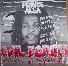 PRINCE ALLA  -  EVIL FORCES - CALABASH  - LP