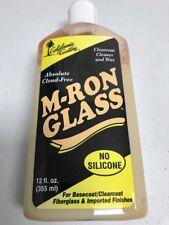California Custom M-Ron Glass Wax Polish Clear Coat Paint Car Boat Motorcycle