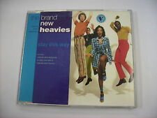 BRAND NEW HEAVIES - STAY THIS WAY - CD SINGLE EXCELLENT CONDITION 1992