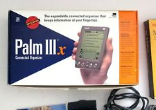 Palm Iiix Pilot with Modem in Boxes +