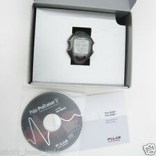 POLAR RS400 Heart Rate Monitor watch only ~ nice ~ w/ ProTrainer5 CD ~ rs300x