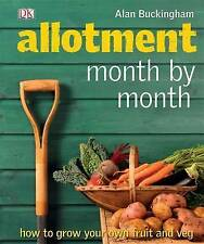 Allotment Month by Month by Alan Buckingham New Hardback Book