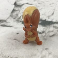 Miniature Squirrel Figure Brown PVC Forest Animal Cute Woodland Toy