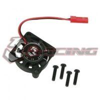 3RACING 3RAC-FAN02 25 x 25 mm 7.2v For 1/10 1/18  On Off Road RC TAMIYA Car