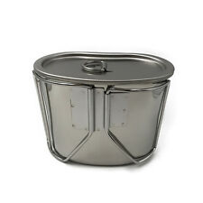 Jolmo Lander G.I Style Stainless Steel Canteen Cup 700 ml with Lid
