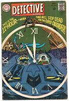 Detective Comics 375 DC 1968 FN Batman Robin Batmobile Clock Elongated Man