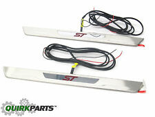 2012-2016 Ford Focus ST LED Illuminated Front Door Sill Plates OEM DM5Z54132A08F