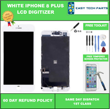 For iPhone 8 Plus White Display Digitizer LCD Replacement Assembly Genuine OEM