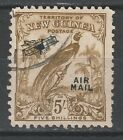 NEW GUINEA 1932 UNDATED BIRD AIRMAIL 5/- USED