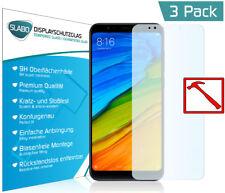 3 x Slabo PREMIUM Panzerglasfolie für Xiaomi Redmi 5 Plus KLAR Tempered Glass 9H