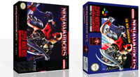 - Ninja Warriors SNES Replacement Game Case Box + Cover Art work Only