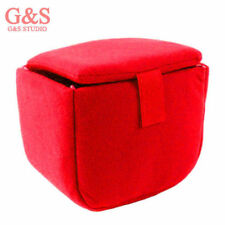 SLR Portable Camera Inner Partition Padded Protector Case Bag red