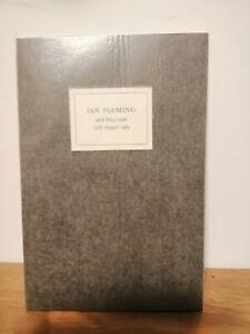 Ian Fleming Memorial Service Address William Plomer September 1964 book paperbk
