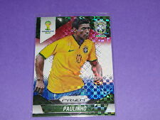 2014 Panini Prizm World Cup PAULINHO #110 Red/White/Blue SP Tottenham - BRASIL