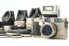 [Near MINT] CONTAX G2 Film Camera w/ 28mm 45mm 90mm Lens & TLA200 From JAPAN