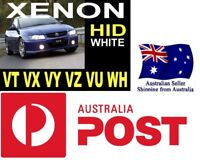 XENON HID White Look Lights Bulbs Commodore VT VX VY VZ VU WH LEDS
