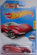 2016 Hot Wheels HW SHOWROOM 7/10 Gazella GT 117/250 (Red)(Int. Card)
