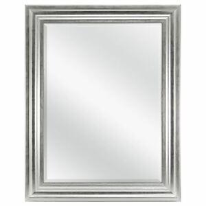"Mainstays Beveled Wall Mirror, 23"" x 29"", Silver Finish"