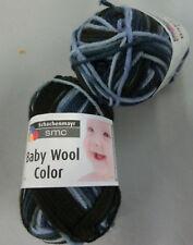 (11,80 €/100g): 250 g smc BABY WOOL, Fb,181 blau/petrol /dunkelgrün Verlau #2946