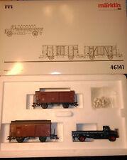 Set de 3 vagones de mercancías Marklin ref. 46141