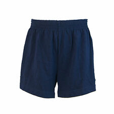 Ativa Pantalones Cortos Niñas Deportes Gimnasia (azul Marino) - Large (12-14 Años)