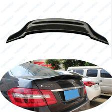 Rear Trunk Wing Spoiler Mercedes-Benz E-Class W212 2010-2015 True Carbon Fiber
