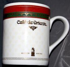 Cafe de Oriente Mug 1996-1997 European Coffeehouse Cup Madrid Espana Gevalia