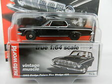 2017 AUTO WORLD 1:64 *PREMIUM 1A* BLACK 1963 Dodge Polara Max Wedge 426 *NIP*