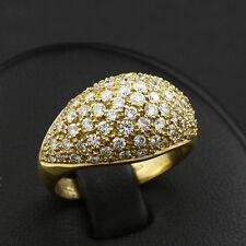 Exklusiver Brillant Ring mit ca. 1,50 ct. TW/VVS