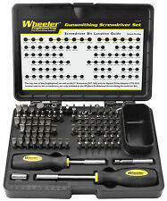 NEW! Wheeler 89-Piece Deluxe Gunsmithing Screwdriver Set NEW FAST SHIP!
