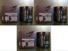 3 x SEBASTIAN CRAFT CLAY REMOLDABLE MATTE TEXTURIZER 150ML / 150G