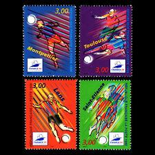 France 1996 - Football World Cup - France 1998 Soccer - Sc 2530/3 MNH