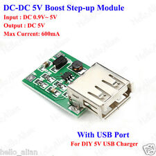 DC-DC Boost Step-up Power Supply Volt Converter 3V/3.3V/3.7V to 5V USB Charger