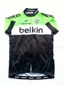 Cycling Shirt size L 51cm SMS Santini Belkin Team Bianchi UCI